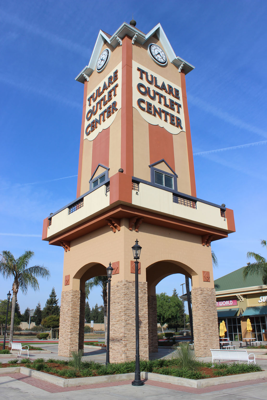 Tulare Outlet Clock Tower