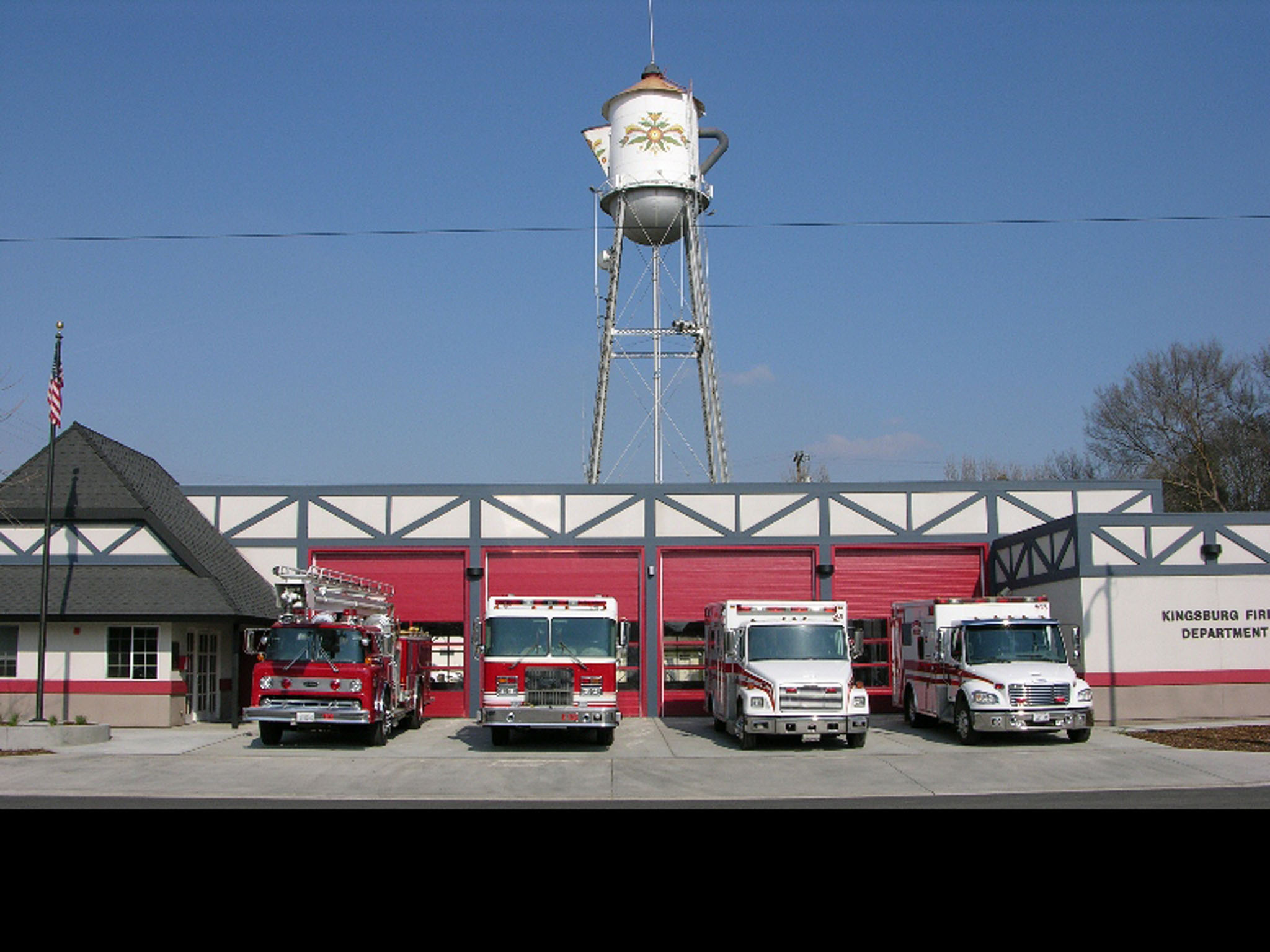 Kingsburg Fire Station
